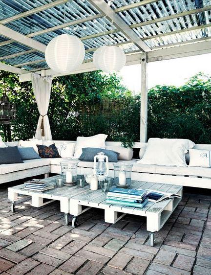Balkonmobel Im Winter Drauben Lassen : Möbel aus Paletten sind zur Zeit absolut im Trend! – Bild gesehen