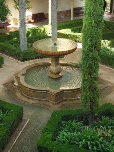 Bild Brunnen im Garten