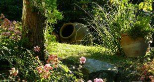 Bild moderner Garten