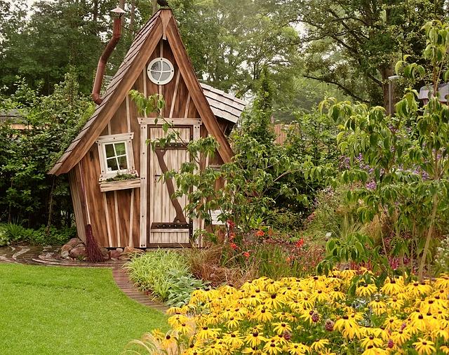 So kaufen sie das richtige gartenhaus - Gartenhaus romantisch ...
