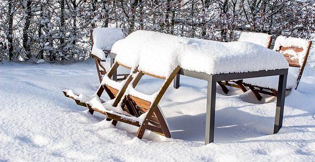 lassen sie ihre gartenmöbel gut über den winter kommen, Moderne