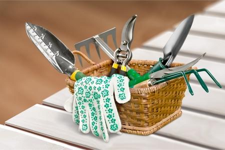Gartengeräte für die Blumenpflege