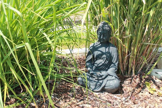 Buddha für den Garten