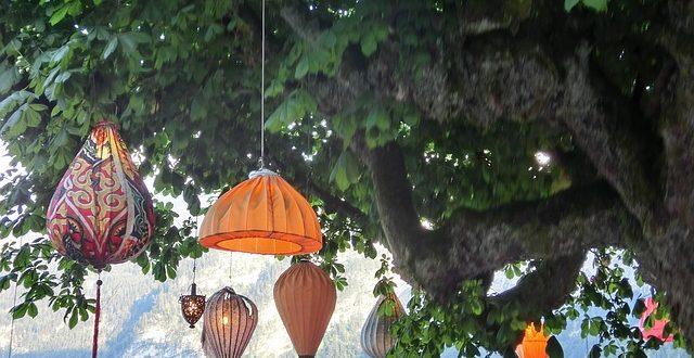 Bild Lampions am Baum