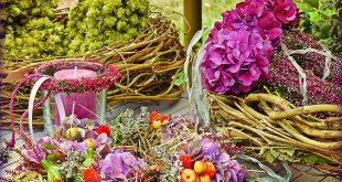 Bild Blumendekoration