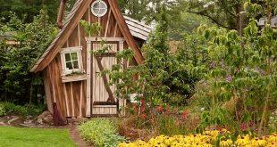Bild Gartenhaus aus Holz